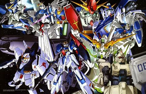 gundam mobile suits gundams of the ages anime amino
