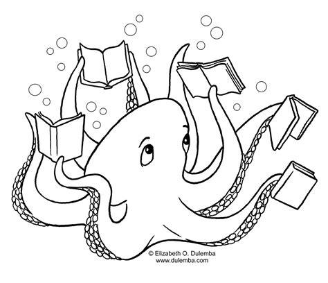 coloring pages of animals reading libri 17 disegni per bambini da colorare
