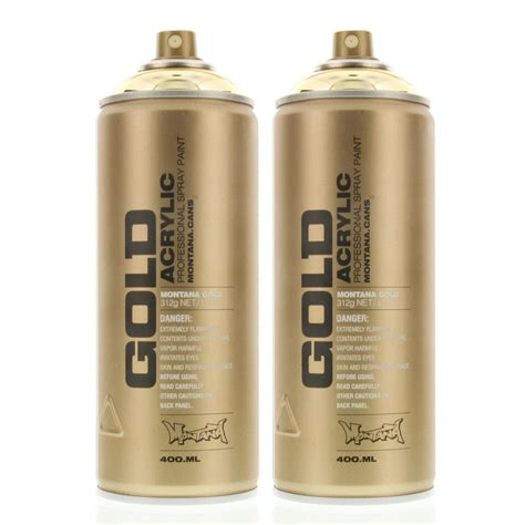spray painter montana gold acrylic spray paint goldchrome m3000