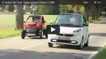 renault twizy vs smart fortwo e auto test renault twizy vs smart fortwo ed
