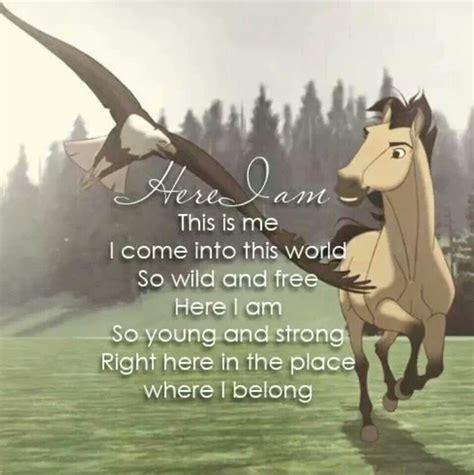film love on a horse spirit horse quotes quotesgram