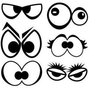 scary eyes coloring pages monster eyes clipart black and white clipground