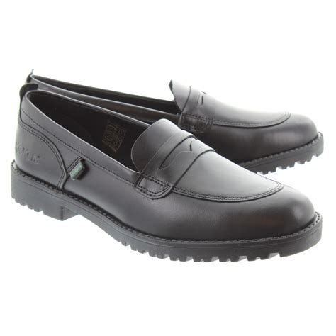 kickers loafers kickers lachly loafer in black in black