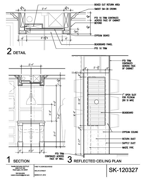 bulkhead section bulkhead detail drawing google search ceiling and