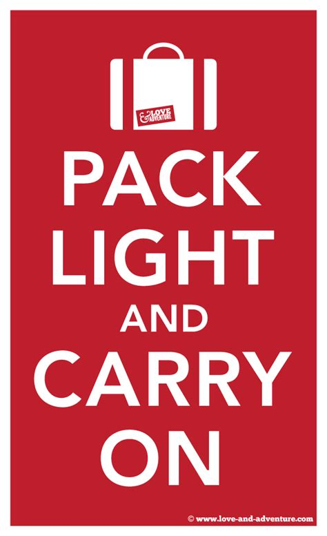 Packing Light by Tips For Packing Light One Bag One World