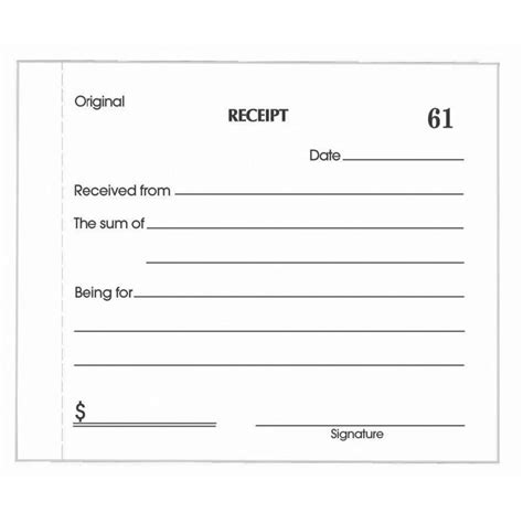 register receipts templates receipts template it resume cover letter sle
