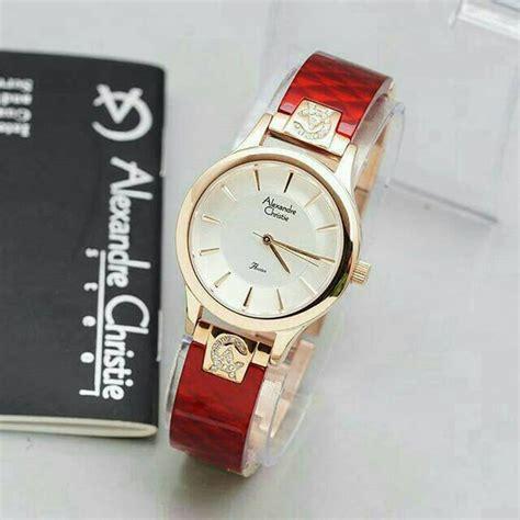 jual terbaru jam tangan wanita cewek alexandre christie