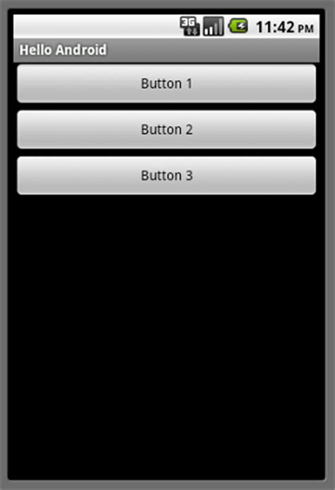 linear layout animation in android 縦または横一列に要素を並べるリニアレイアウト linearlayout android 開発入門
