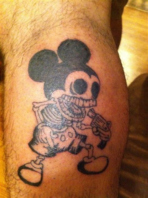 tribal mickey mouse tattoos mickey mouse tattoos