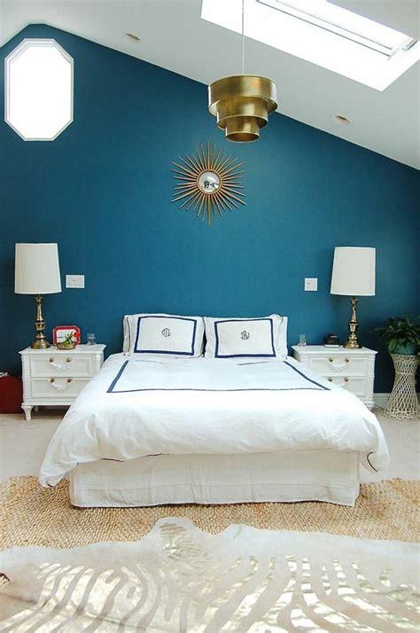 peinture chambre bleu nuit