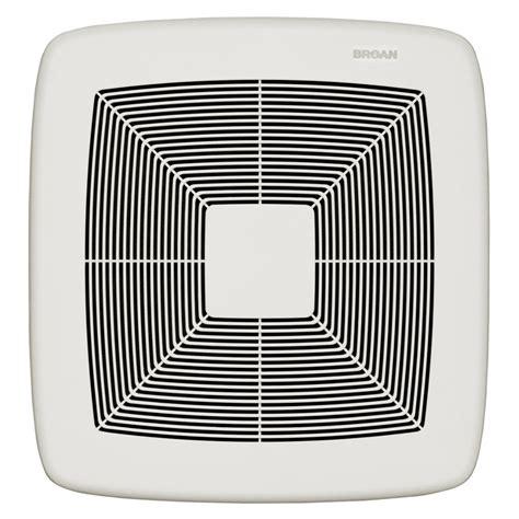 cfm bathroom fan shop broan 0 3 sone 80 cfm white polymeric bathroom fan energy star at lowes com