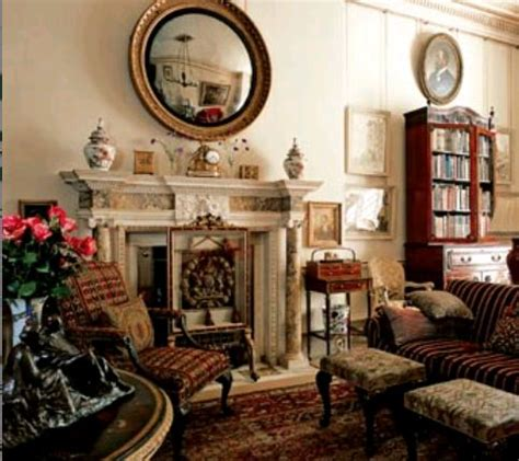 the morning room of clarence house | the enchanted manor