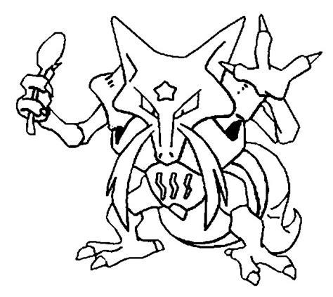 pokemon coloring pages alakazam coloring pages pokemon kadabra drawings pokemon