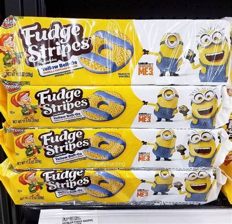 Summer Kitchen Ideas despicable me vanilla cupcake fudge stripes are now in stores