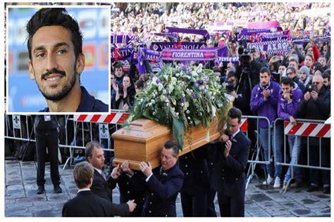 lettere per funerali funerali di davide astori la lettera di milan badelj