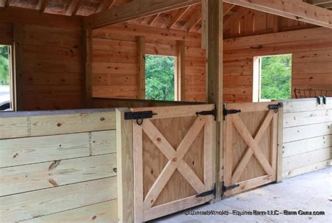 Low Cost Wall Decor Low Cost 2 Stall Horse Barn Option Installations Ferme