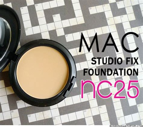 Mac Nc 25 mac studio fix foundation nc25 review for great coverage