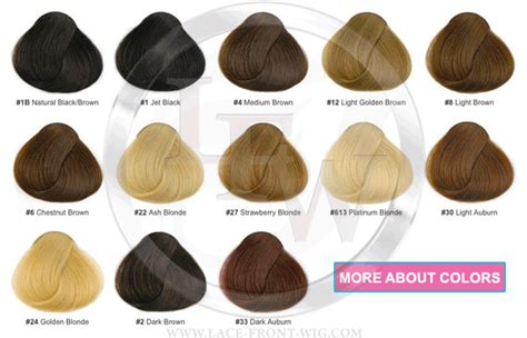 different types of hair color for african americans color chart of lace wigs dark brown hairs