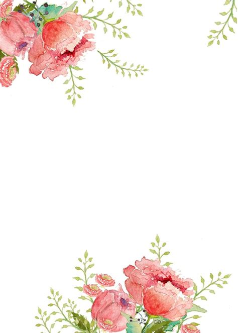 free printable easter flowers free watercolor easter printable craftberry bush