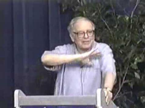 Warren Buffett On Mba by Warren Buffett Mba Talk Part 5