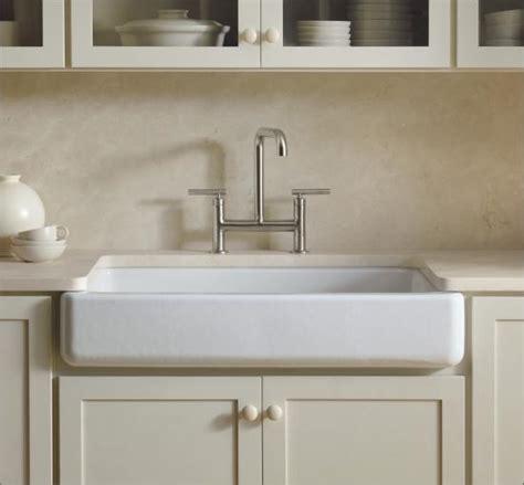 kohler k 6488 47 almond whitehaven 36 quot single basin