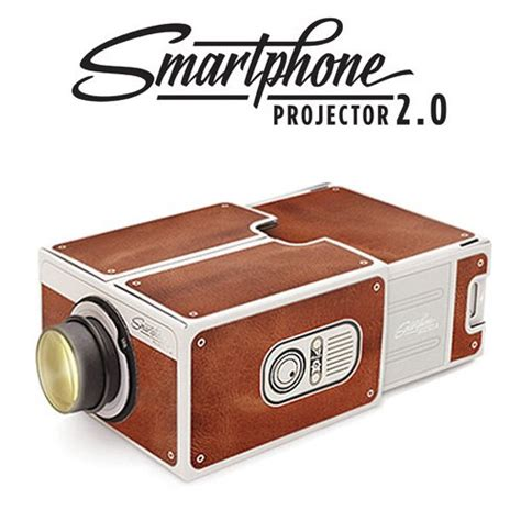 Proyektor Portable Smartphone jual portable cardboard smartphone projector 2 0