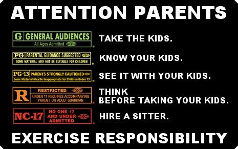 parental rating mr screenright why content matters and ratings don t