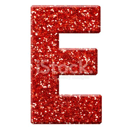 glitter letter e stock photos freeimages.com