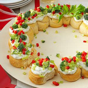 cute christmas appetizers for parties appetizer wreath appetizers
