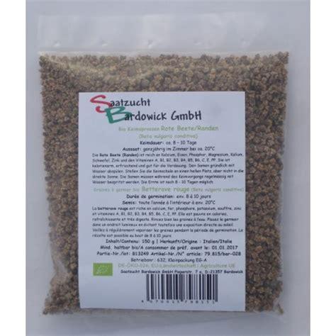 rote beete sprossen kaufen 2091 randen sprossen keimsaat bio bardowick kaufen