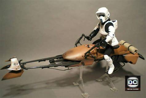 Imperial Speeder Bike Polybag wars 24 226 imperial speeder bike 1 6 scout trooper 12 quot figure rotj sideshow