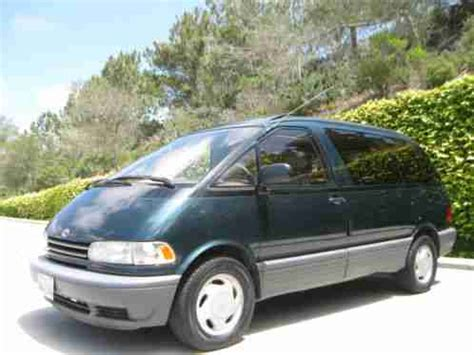 1994 Toyota Previa Toyota Previa Le 1994 Find Just In Is This Can