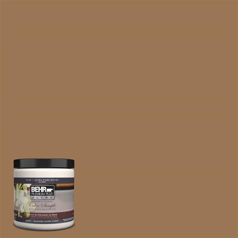 behr premium plus ultra 8 oz ul130 5 coco rum interior