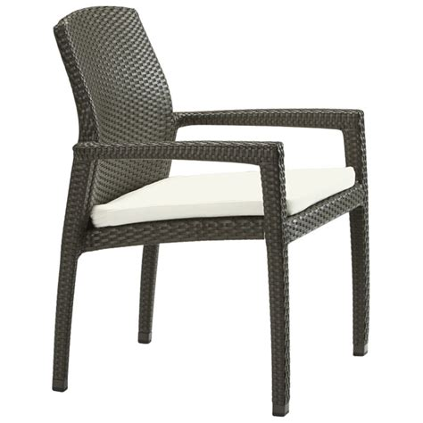 Chair With Pad by Tropitone 36082405 Evo Dining Chair With Pad Discount