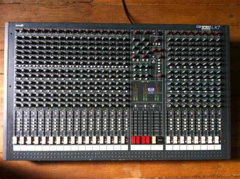 Mixer Soundcraft Spirit Lx7 24 Cnl soundcraft spirit lx7 24 image 437697 audiofanzine