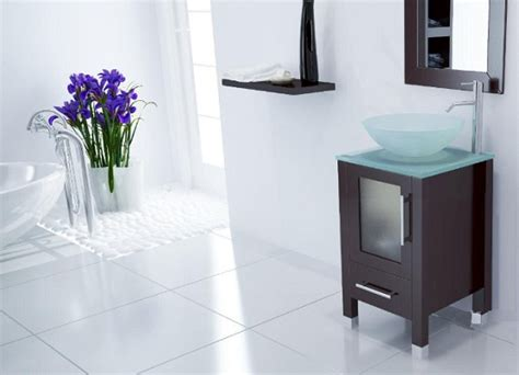 bathroom cabinets for bowl sinks bathroom vanity with vessel sink home interiors