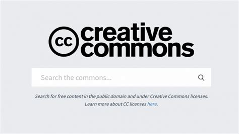 creative commons officially launches  search engine
