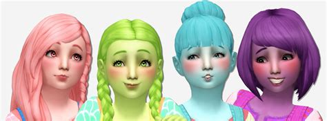sims 4 toddler eyes cc noodles toddler stuff hair recolors recolors of all of