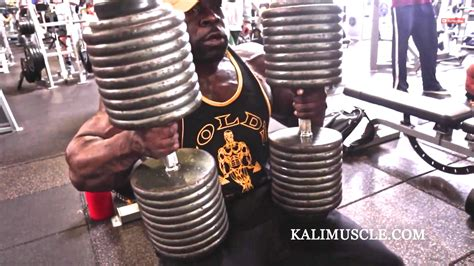 kali muscle bench press kali muscle chest workout w 200lb dumbbell press