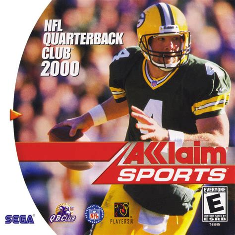 nfl quarterback club  dreamcast game