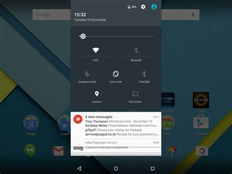 notification bar android top 15 android lollipop tips tricks and features feature pc advisor