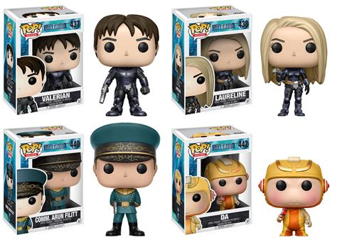 Funko Pop Doghan Daguis Valerian And The City Of A Thousand Pla pop valerian plastic and plush