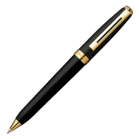 Ekslusive Pen Sheaffer Prelude Mini Brushed Chrome Ballpoint Garansi sheaffer prelude mini ballpoint pen black gold 9801 2 ebay