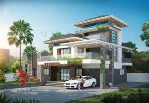 Banglow 3d bungalow elevation views 3d elevation designing 3d power