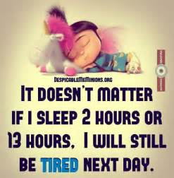 joke for friday 31 july 2015 from site minion quotes sleep