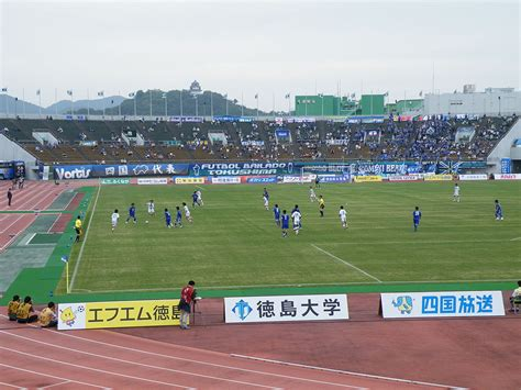 Section 2 League California ファイル tokushima vs sapporo at j league division2