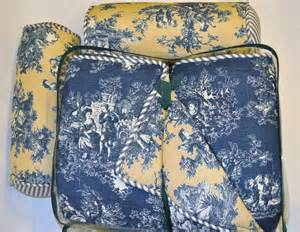 blue toile bedding sets new waverly home blue yellow toile king comforter set roll pillows ebay