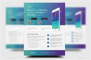 digital flyer templates mobile app promotion flyer templates by rtralrayhan