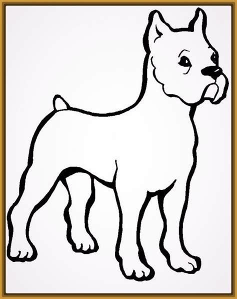 imagenes para dibujar de perros pitbull dibujos para imprimir de perros cachorros archivos