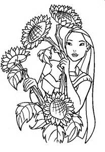 pocahontas coloring pages coloring pages for disney princess pocahontas